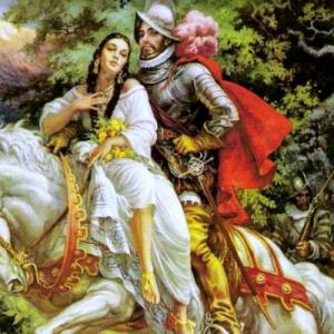 Malinche i Cortes